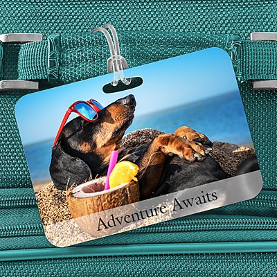 Picture Perfect Photo Luggage Tag