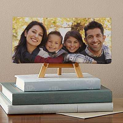 Picture Perfect Photo Mini Canvas on Easel