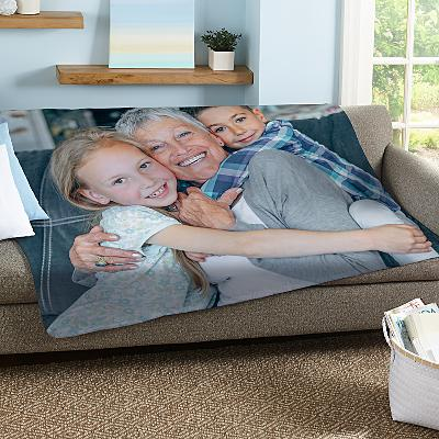 Picture Perfect Photo Plush Blanket