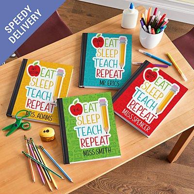 Eat, Sleep, Teach Notebook