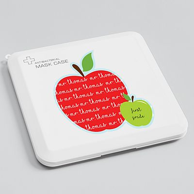 Apples For Days Antibacterial Face Mask Case