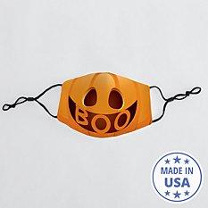 Create Your Own Jack-o-Lantern Kids Face Mask