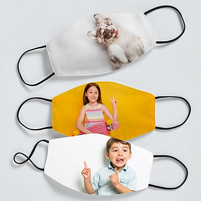 Picture Perfect Photo Kids Face Mask