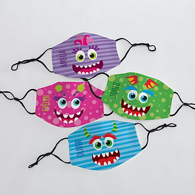 Silly Monster Kids Face Mask