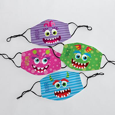 Silly Monster Kids Face Mask