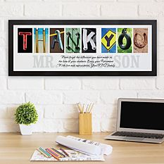 Architectural Thank You Canvas