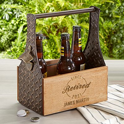 Established Retirement Beer Caddy