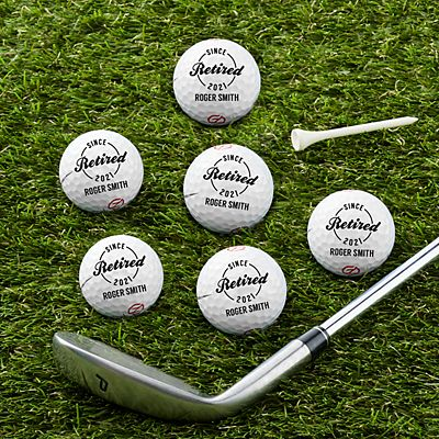 Established Retirement Golf Balls