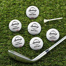 Established Retirement Golf Balls