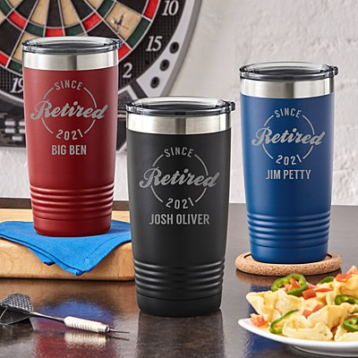 Established Retirement Insulated Tumbler