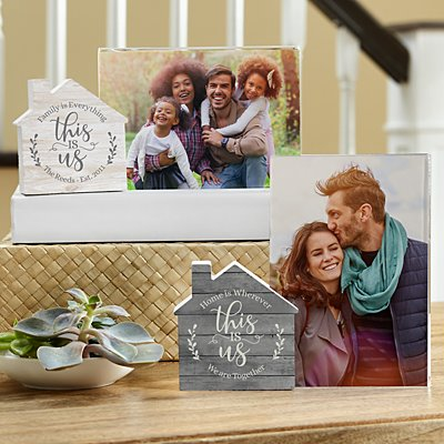 Floral This Is Us House Frame