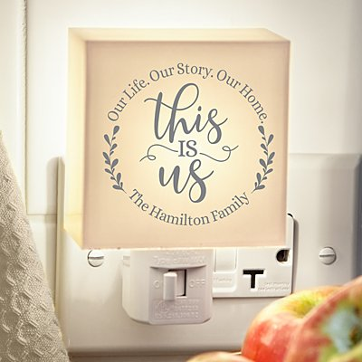 Floral This Is Us Nightlight