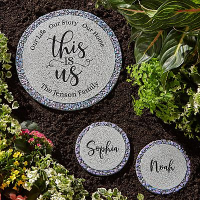 Floral This Is Us Stepping Stone