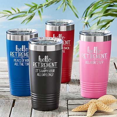 Let The Adventure Begin 20 oz. Insulated Tumbler
