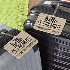Let The Adventure Begin Luggage Tag