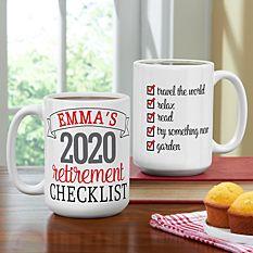 Retirement Checklist Mug