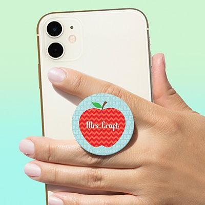 Apple for Teacher PopSockets PopGrip®
