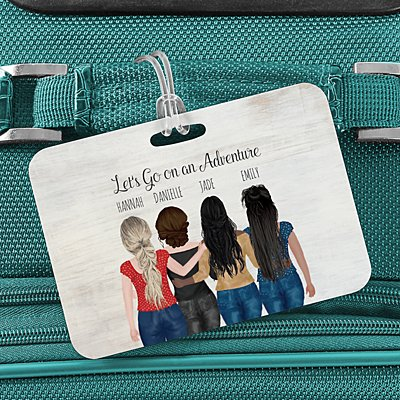 Forever Friends Luggage Tag