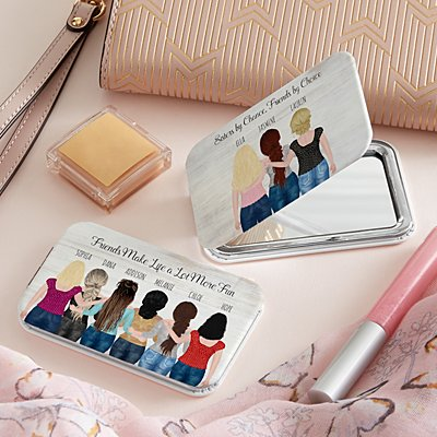 Forever Friends Purse Mirror