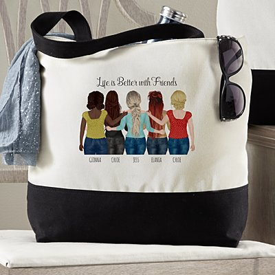 Forever Friends Tote Bag