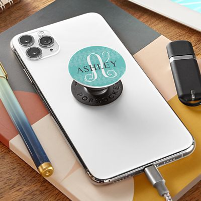 Initial with Name PopSockets PopGrip®