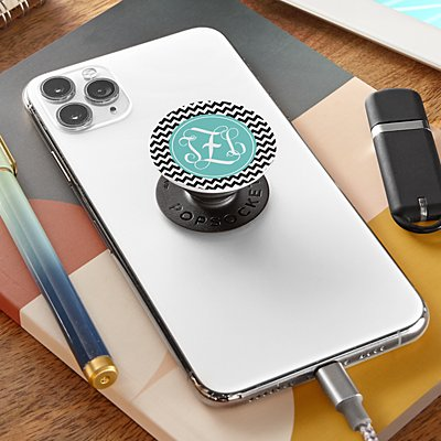Interlocking Monogram  PopSockets PopGrip®