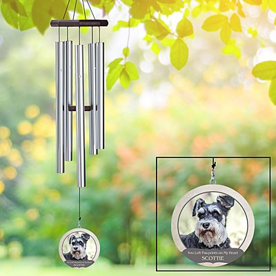 Memorial Pet Photo Wind Chime