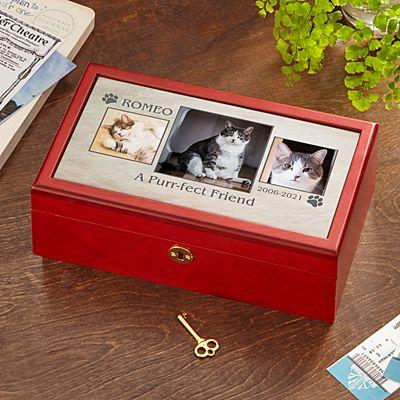 Pet Memorial Photo Keepsake Box