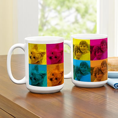 Pop Art Photo 15oz Mug