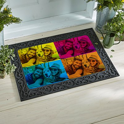 Pop Art Photo Doormat