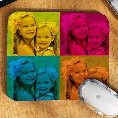 Pop Art Photo Mouse Pad