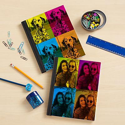 Pop Art Photo Notebook