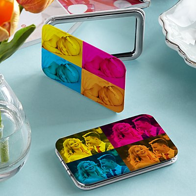 Pop Art Photo Purse Mirror