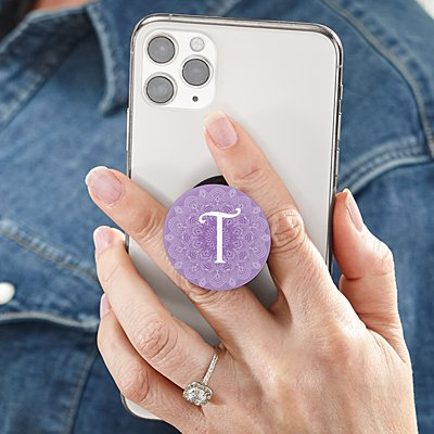 Single Initial PopSockets PopGrip®