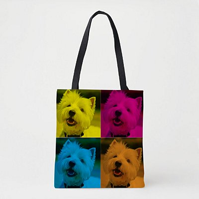 Pop Art Pet Photo Tote