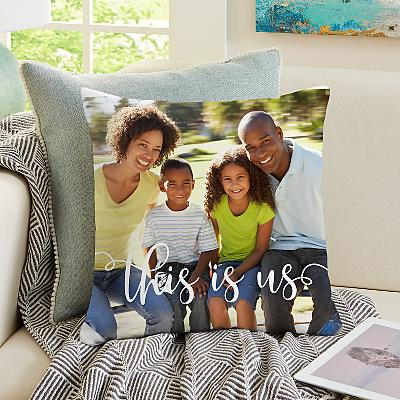 This is Us Photo Cushion