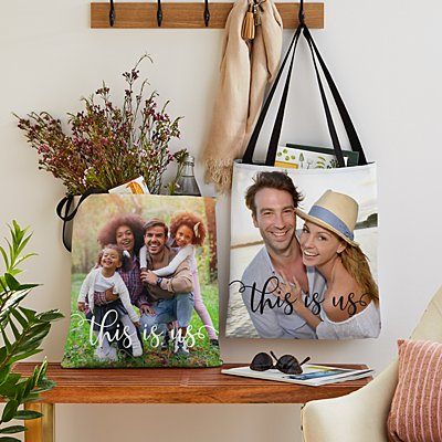 This is Us Photo Tote