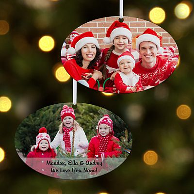 Picture Perfect Photo Oval Ornament