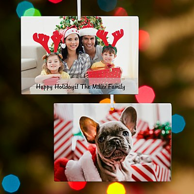 Picture Perfect Photo Rectangle Ornament