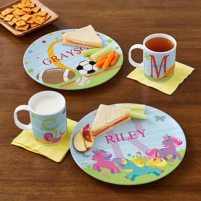 My Own Name Personalized Tableware