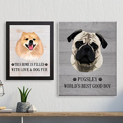 Dog Breed Canvas