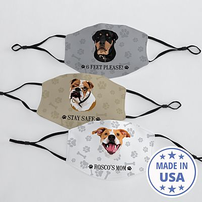 Dog Breed Face Mask