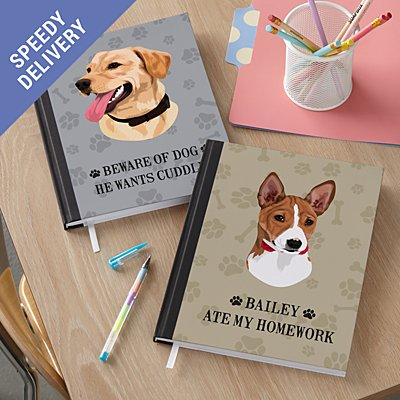 Dog Breed Notebook