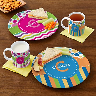 Pattern Party Personalized Tableware