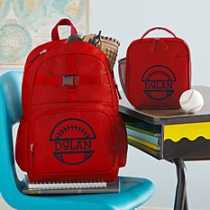 Sporty Fun Red Backpack Collection