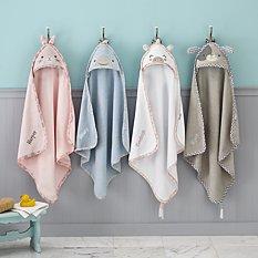 Stephen Joseph® Sweet Baby Hooded Bath Towels