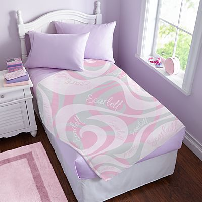 Swirly Fun Plush Blanket