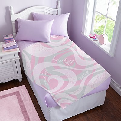 Swirly Fun Plush Blanket