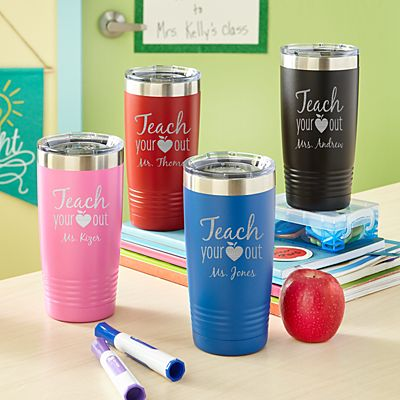 Teach Your Heart Out Insulated Tumblers