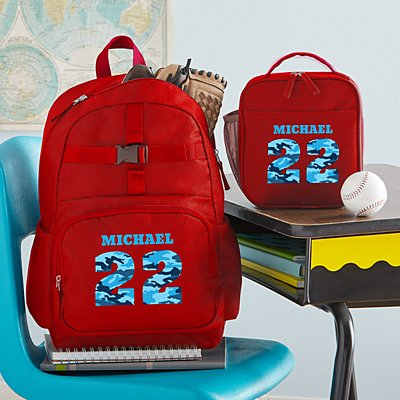 Their Own Name Red Backpack Collection